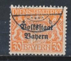 Beieren/Bavaria/Baviere/Bayern 1919 Mi: DM 37 (Gebr/used/obl/o)(792) - Beieren