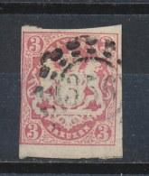 Beieren/Bavaria/Baviere/Bayern 1867 Mi: 15 (Gebr/used/obl/o)(794) - Bavière