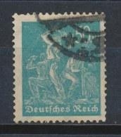 Duitse Rijk/German Empire/Empire Allemand/Deutsche Reich 1922 Mi: 245 Yt: 242 (Gebr/used/obl/o)(130) - Allemagne