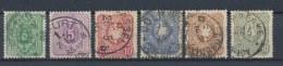 Duitse Rijk/German Empire/Empire Allemand/Deutsche Reich 1880 Mi: 39-44 Yt: 36-41 (Gebr/used/obl/o)(461) - Allemagne