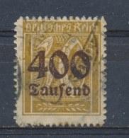 Duitse Rijk/German Empire/Empire Allemand/Deutsche Reich 1923 Mi: 299 Yt: 287 (Gebr/used/obl/o)(500) - Duitsland