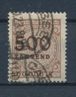 Duitse Rijk/German Empire/Empire Allemand/Deutsche Reich 1923 Mi: 313 A Yt: 294 (Gebr/used/obl/o)(787) - Duitsland