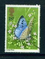GREAT BRITAIN  -  1981  Butterflies  18p  Used As Scan - Oblitérés