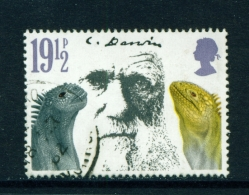 GREAT BRITAIN  -  1982  Charles Darwin  191/2p  Used As Scan - Used Stamps