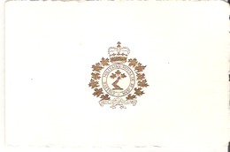 Carte Noel Le Commandant Et Le Personnel Du College Militaire Royal De Saint-Jean Joyeux Noel Heureuse Annee Merry Xmas - Xmas