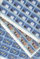 DDR 3170/72 Komplette Schalterbogen ** Postfrisch 1xgefaltet - Ungebraucht