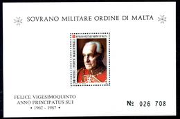 1987 SMOM BF22 MNH** - Sovrano Militare Ordine Di Malta