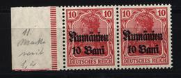 Militärverwaltung In Rumänien,9a,Za,xx,gep. - Besetzungen 1914-18