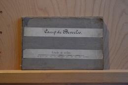 Camp De Beverloo.Carte Topographique. Imprimée à L´institut Cartographique Militaire En 1884; éch.1/20.000 - Cartes Topographiques