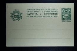 Letland / Latvia Postcard Mi Nr P1 Unused - Lettland