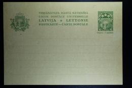 Letland / Latvia Postcard Mi Nr P5  Not Used - Lettland