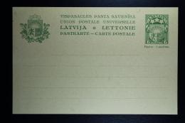 Letland / Latvia Postcard Mi Nr P3   Not Used - Lettland