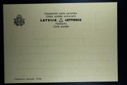 Letland / Latvia Postcard Carte Postale Not Used  Numbered 51.656 - Lettland