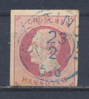 Hannover 1859 Mi: 14 (Gebr/used/obl/o)(584) - Hanover