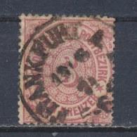 Noordduitse Bond/North German Conf./Conf. Allemagne Du Nord/Norddeutscher Bund 1869 Mi: 21 (Gebr/used/obl/o)(585) - North German Conf.