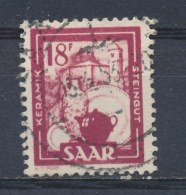 Saar/Sarre 1949 Mi: 282 Yt: 287 (Gebr/used/obl/o)(592) - 1947-56 Gealieerde Bezetting