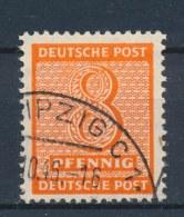 Duitsland/Germany All. Bezetting/ All Occupation Sovjetzone West Sachsen 1945 Mi: 130x (Gebr/used/obl/o)(256) - Zone Soviétique