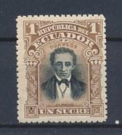 Ecuador/Équateur 1901 Mi: 130 Yt: 133(PF/MNH/Neuf Sans Ch/**)(288) - Ecuador