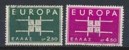 Griekenland/Greece/Grece/Griechenland 1963 Mi: 821-822 Yt: 799-800 (Gebr/used/obl/o)(215)