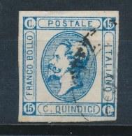 Italië/Italy/Italie/Italien 1863 Mi: 15 Yt: 11 (Gebr/used/obl/o)(19)