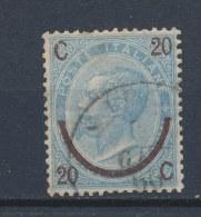 Italië/Italy/Italie/Italien 1865 Mi: 25 I Yt: 22b (Gebr/used/obl/o)(514)
