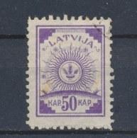 Letland/Latvia/Lettland/Lettonie 1919 Mi: 13 A Yt: 23 (Gebr/used/obl/o)(709) - Lettonie