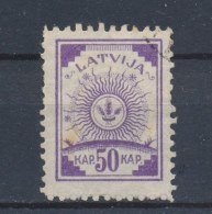 Letland/Latvia/Lettland/Lettonie 1919 Mi: 13 A Yt: 23 (Gebr/used/obl/o)(709) - Latvia