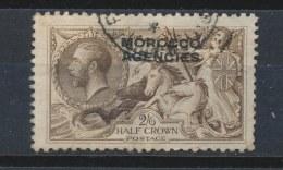 Brits Marokko/British Morocco/Maroc Britannique/Britische Marokko 1914 Mi: 53 Yt: 17 (Gebr/used/obl/o)(200) - Uffici In Marocco / Tangeri (…-1958)