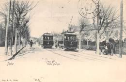 CROATIE / Pola - Viale Barsan - Beau Plan Tramway - Croatia