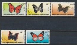 Niger 1983 Mi: 867-871 (Gebr/used/obl/o)(198) - Niger (1960-...)