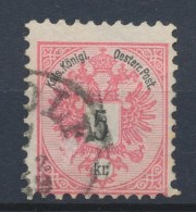 Oostenrijk/Austria/Autriche/Österreich 1883 Mi: 46D (Gebr/used/obl/o)(53) - Used Stamps