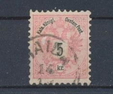Oostenrijk/Austria/Autriche/Österreich 1883 Mi: 46 D Yt: 42 (Gebr/used/obl/o)(224) - Gebruikt