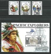 "Norfolk Island 2005 International Stamp Exhibition ""PACIFIC EXPLORER '05"" - Syndney, Australia - Discoverer.MNH"