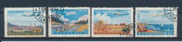 Roemenië/Romania/Roumanie/Rumänien 1956 Mi: 1626-1629 Yt: TA 65-68 (Gebr/used/obl/o)(183)
