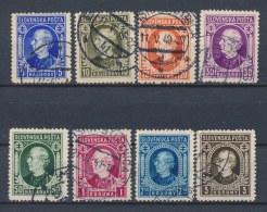 Slowakije/Slovakia/Slovaquie/Slowakei 1939 Mi: 35-42 Yt: 22-29 (Gebr/used/obl/o)(696) - Slowakije
