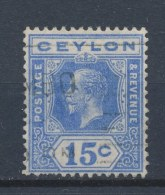 Ceylon/Ceylan 1921 Mi: 195 Yt: 212 (Gebr/used/obl/o)(503) - Ceylon (...-1947)