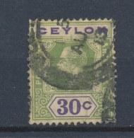 Ceylon/Ceylan 1911 Mi: 173 Yt: 185 (Gebr/used/obl/o)(504) - Ceylon (...-1947)