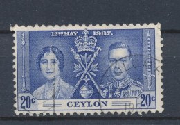 Ceylon/Ceylan 1937 Mi: 229 Yt: 251 (Gebr/used/obl/o)(505) - Ceylon (...-1947)