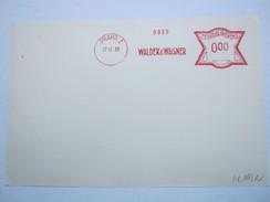 1929 ,  Prag ,Firmen Freistempel , Meterpost Aus Prag, Probeabschlag Auf Blatt