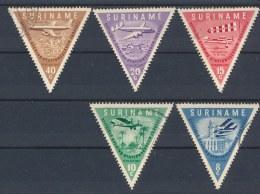 Suriname 1960 Mi: 375-379 Nvph: 340-344 (Gebr/used/obl/o)(236) - Surinam
