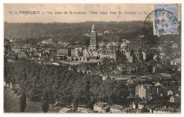 PERIGUEUX -GARE Dordogne Sur CP.1929. - Marcophilie (Lettres)