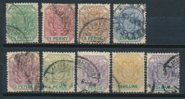 Transvaal 1896 Mi: 48-56 (Gebr/used/obl/o)(478) - Afrique Du Sud (...-1961)