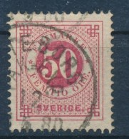 Zweden/Sweden/Schweden/Suede 1872 Mi: 25 B Yt: 24 I (Gebr/used/obl/o)(560) - Gebraucht