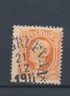 Zweden/Sweden/Schweden/Suede 1911 Mi: 56 Yt: 68 (Gebr/used/obl/o)(667) - Usati