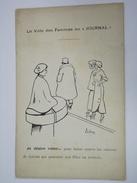 """RARE CPA - ILLUSTRATEUR SIGNÉ - LE VOTE DES FEMMES AU """"JOURNAL"""" - JE DÉSIRE VOTER... - FÉMINISME - SUFFRAGETTES -  R1025 - Other Illustrators"""