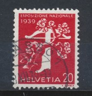 Zwitserland/Switzerland/Suisse/Schweiz 1939 Mi: 354 Yt: 335 (Gebr/used/obl/o)(38) - Schweiz