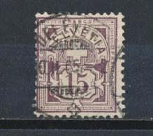 Zwitserland/Switzerland/Suisse/Schweiz 1882 Mi: 57 Yt: 70 (Gebr/used/obl/o)(761)