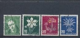 Zwitserland/Switzerland/Suisse/Schweiz 1946 Mi: 475-478 Yt: 433-436 (Gebr/used/obl/o)(1159)