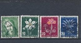 Zwitserland/Switzerland/Suisse/Schweiz 1946 Mi: 475-478 Yt: 433-436 (Gebr/used/obl/o)(1160)