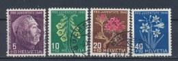 Zwitserland/Switzerland/Suisse/Schweiz 1948 Mi: 514-517 Yt: 467-470 (Gebr/used/obl/o)(1194)